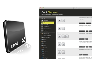 Preview - Quick Shortcuts im Mac App Store ganz vorne