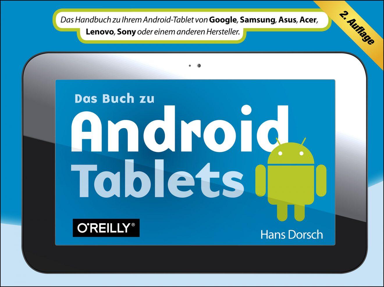 Das Buch zu Android Tablets 2